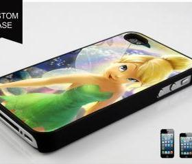 Tinkerbell Design available iPhone 4, iPhone 4S and iPhone 5 case - Black, white and Clear