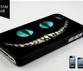 custom iPhone 5 case ALICE IN WONDERLAND Cheshire Cat Smile