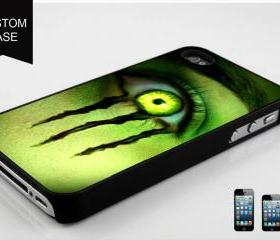 custom iPhone 5 case Monster Energy eye