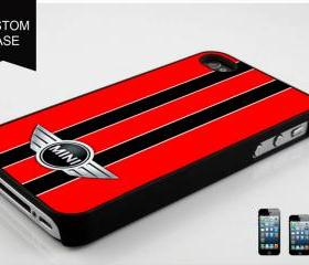 custom iPhone 5 case mini cooper red