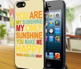 My Sunshine Design available iPhone 4, iPhone 4S and iPhone 5 case - Black, white and Clear