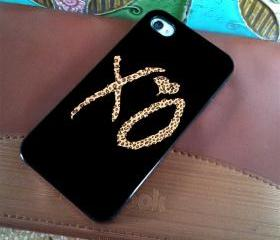 THE WEEKND XO DESIGN LEOPARD Design available iPhone 4, iPhone 4S and iPhone 5 case - Black, white and Clear